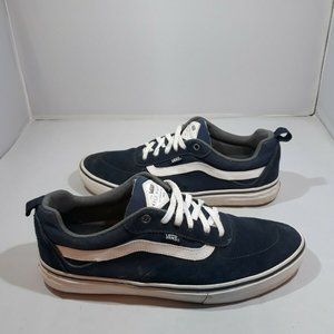 Vans Old Skool Mens 11 Blue White Skate Shoe